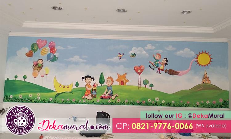 Lukisan Dinding 3d Harga Lukis Dinding Paket Hemat Dmp Pilihan